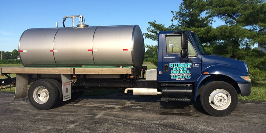 water hauling for pools and hot tubs st. clair county illinois